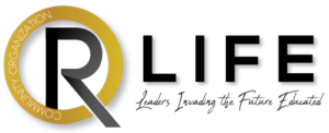 R Life Community Organization Logo