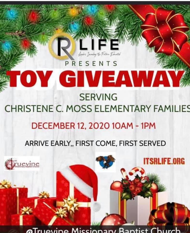R life toy drive