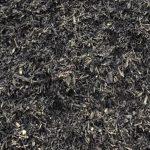 Black Mulch Texture Closeup
