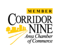 Member of the Corridor Nine Area Chamber of Commerce