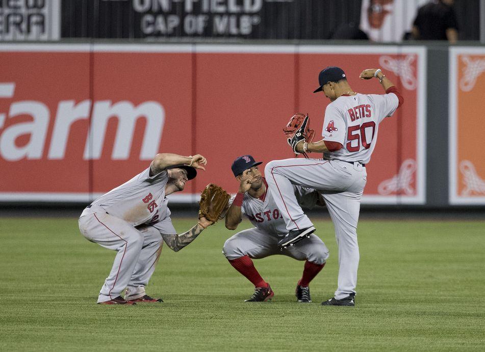 Red Sox win dance repeat