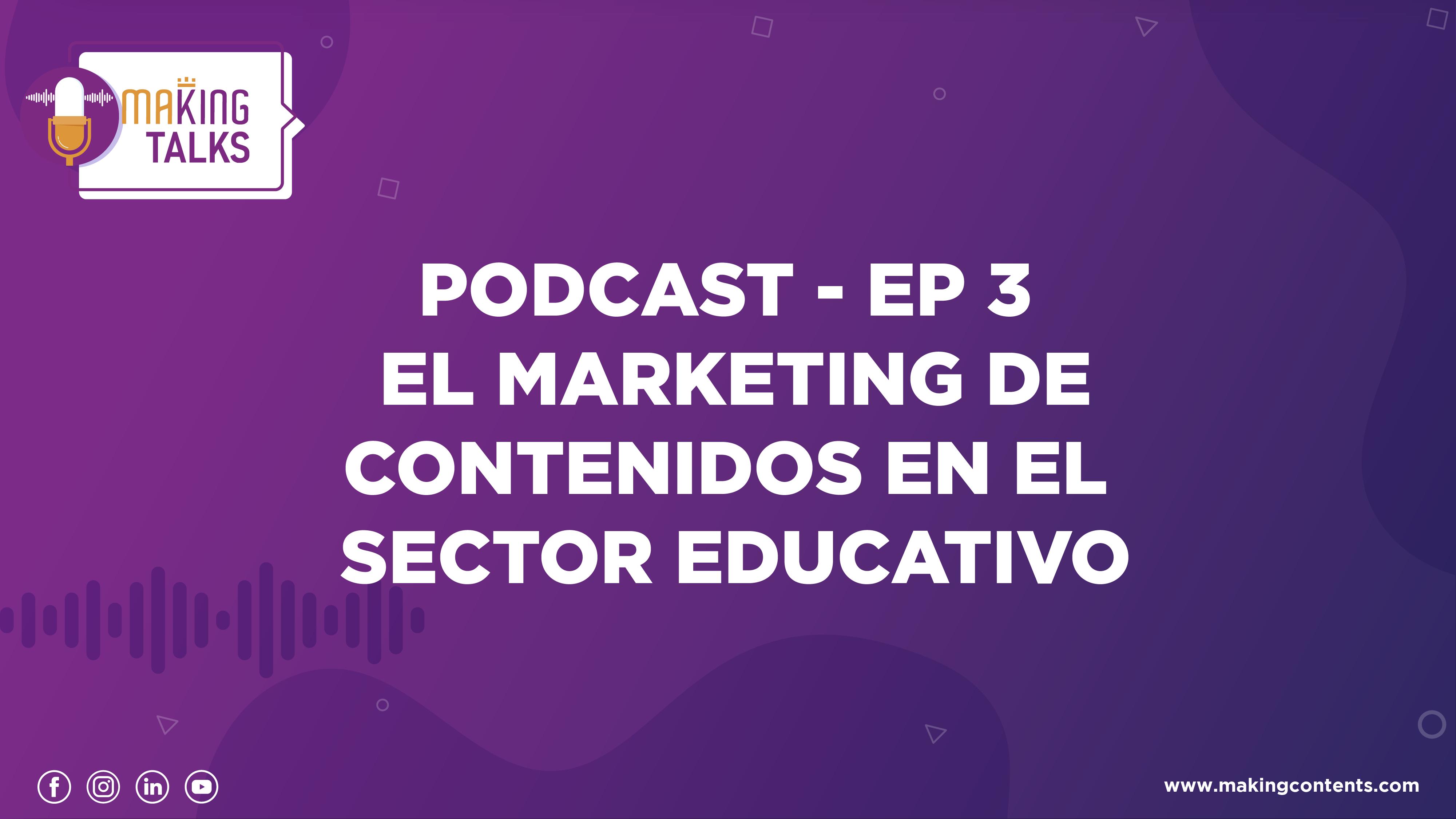 Marketing de contenidos Educación