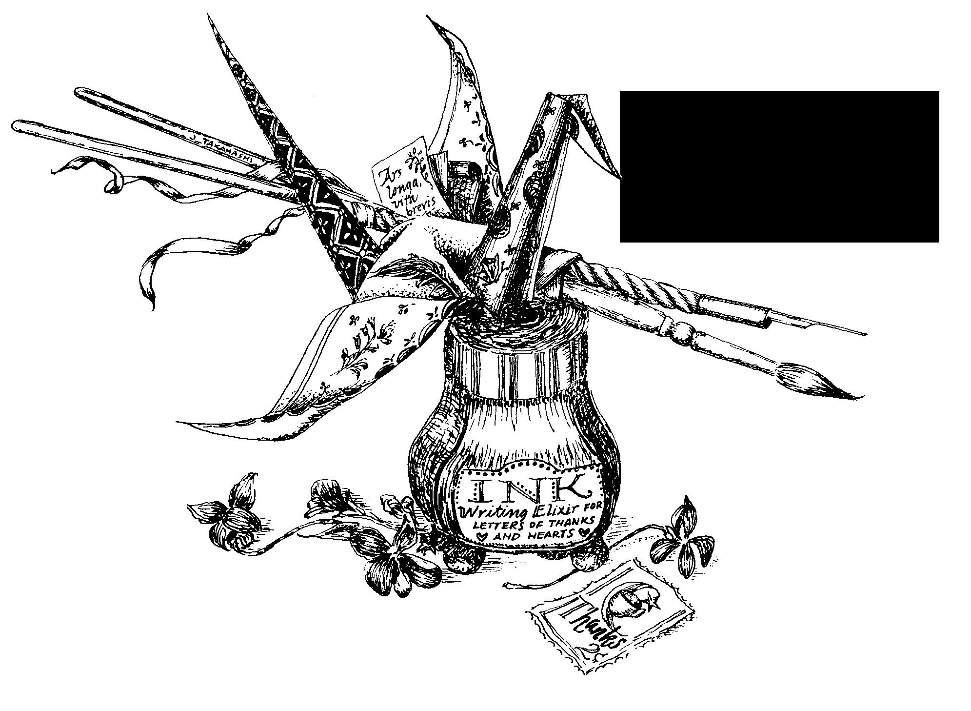 Pen & Ink illustration by Janet Takahashi