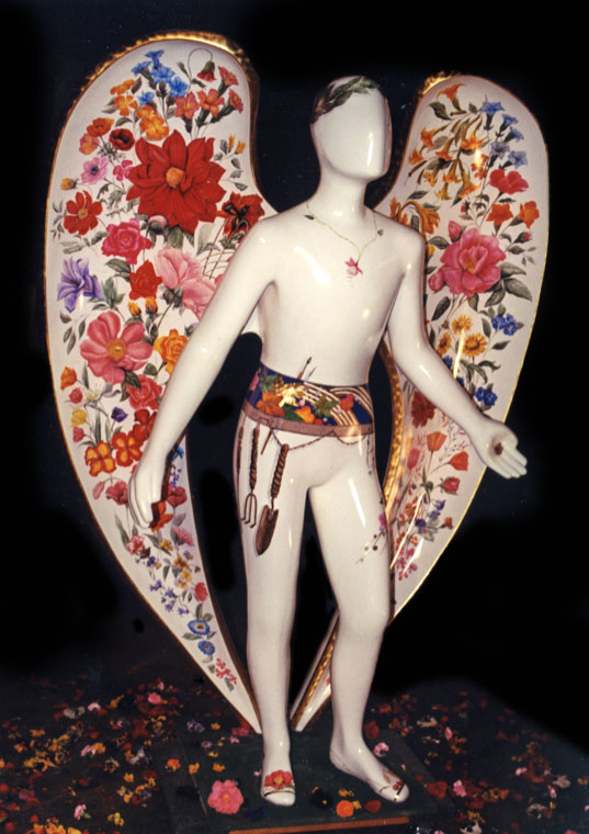 Gardening Angel by Janet Takahashi