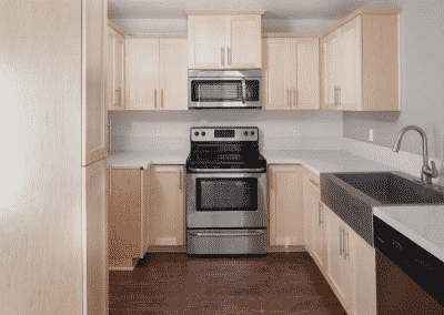 Avignon Apartment Homes Stainless Steel Appliances and quartz counters