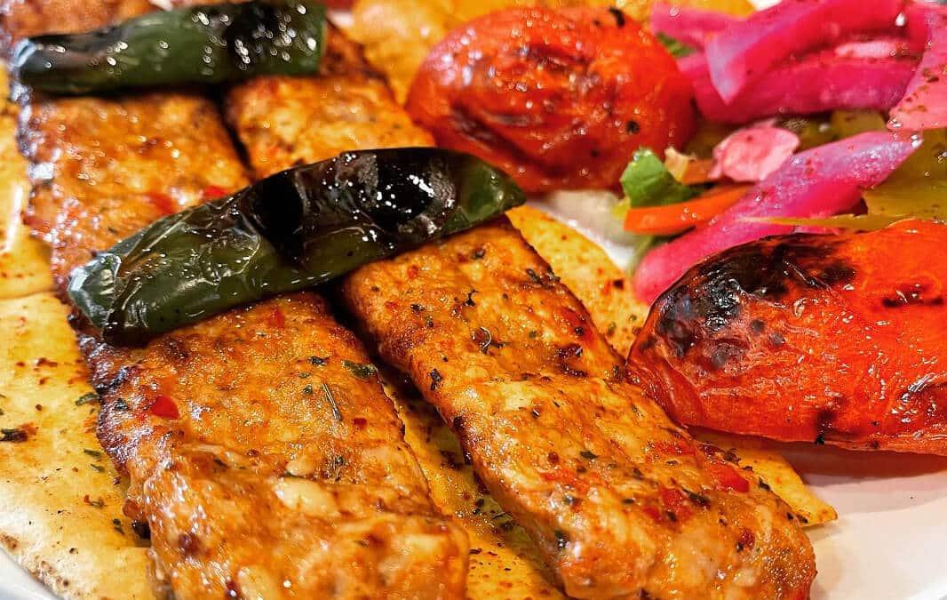 Food from Adana Grill