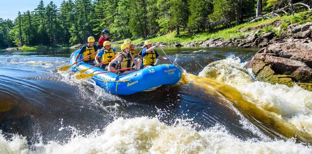 Wilderness Tours Ottawa River Middle Channel Adventure Family Rafting