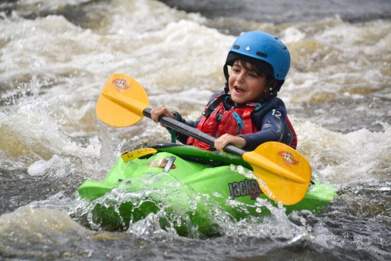 Kids Week Ottawa Kayak School Wilderness Tours Kayaking National Whitewater Park