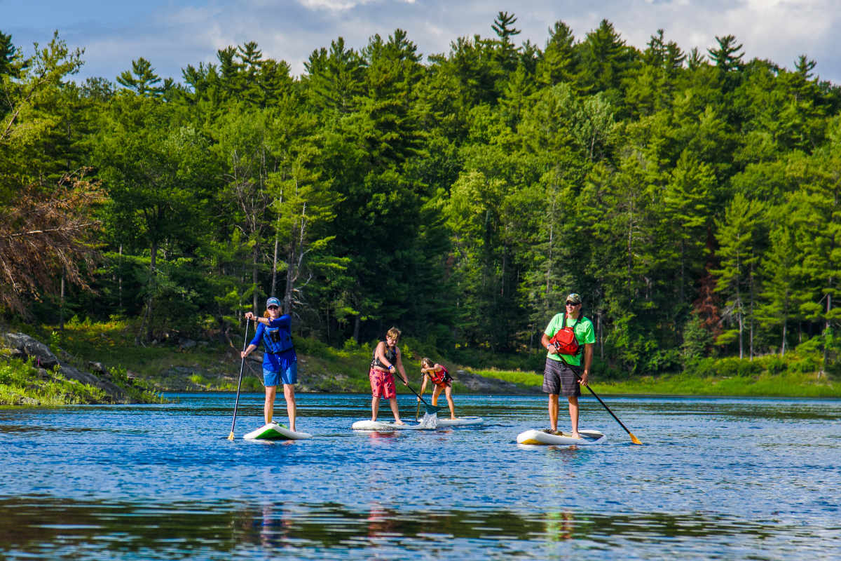 SUP Stand Up Paddleboaring National Whitewater Park Wilderness Tours Canada Ottawa Ontario