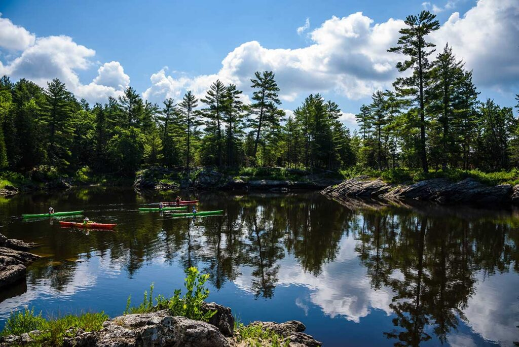 Lower Channel on the Ottawa River Wilderness Tours