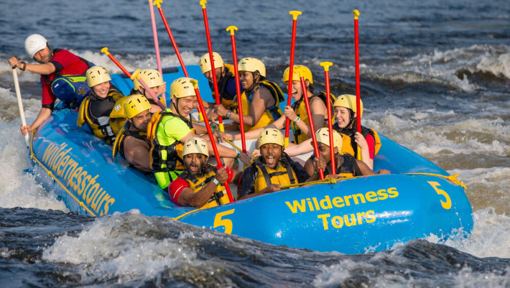 Adult Adventure Week National Whitewater Park Ottawa Ontario Canada Wilderness Tours Rafting Surfing