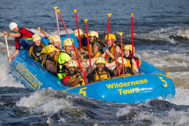 Adult Adventure Week National Whitewater Park Ottawa Ontario Canada Wilderness Tours Rafting Surfing