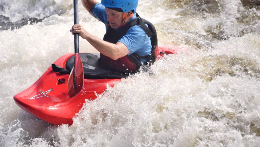 Adult Intermediate Ottawa Kayak School Wilderness Tours National Whitewater Park Surfing