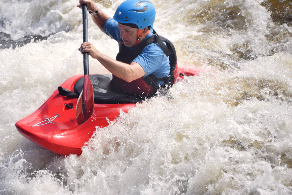 Adult Intermediate Ottawa Kayak School Wilderness Tours National Whitewater Park Surfing