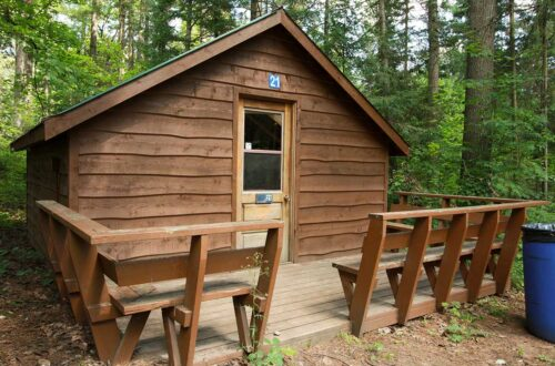 Cedar Cabin Accommodation Rentals at Park Village