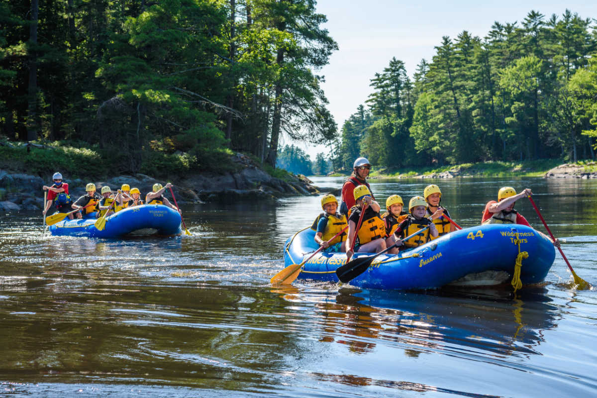 Gentle Classic Combo Rafting Wilderness Tours Ottawa Ontario Canada National Whitewater Park