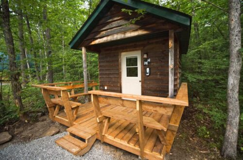 Hillside Cabin Rental at Wilderness Tours