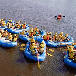 Itinerary Guide Your Own Raft Training With Pro Kayak Guide