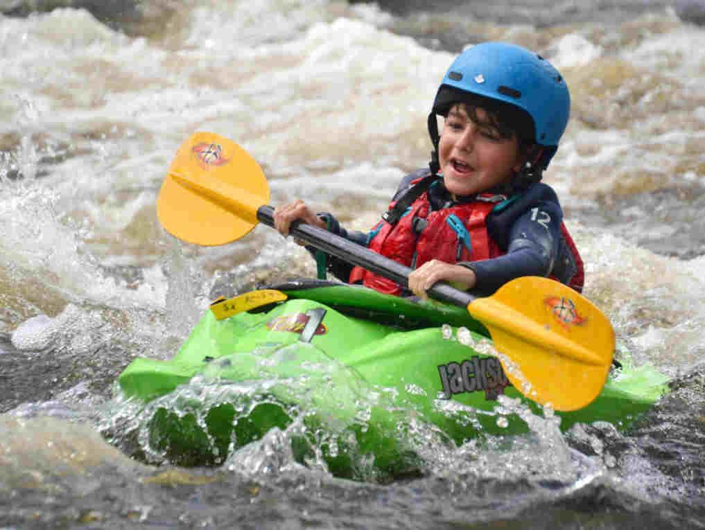 Low Intensity OKS Wilderness Tours National Whitewater Park Kayaking