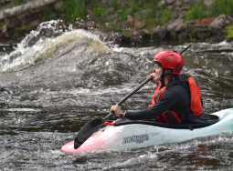 Medium Intensity Kayaking OKS WT National Whitewater Park Ontario Canda