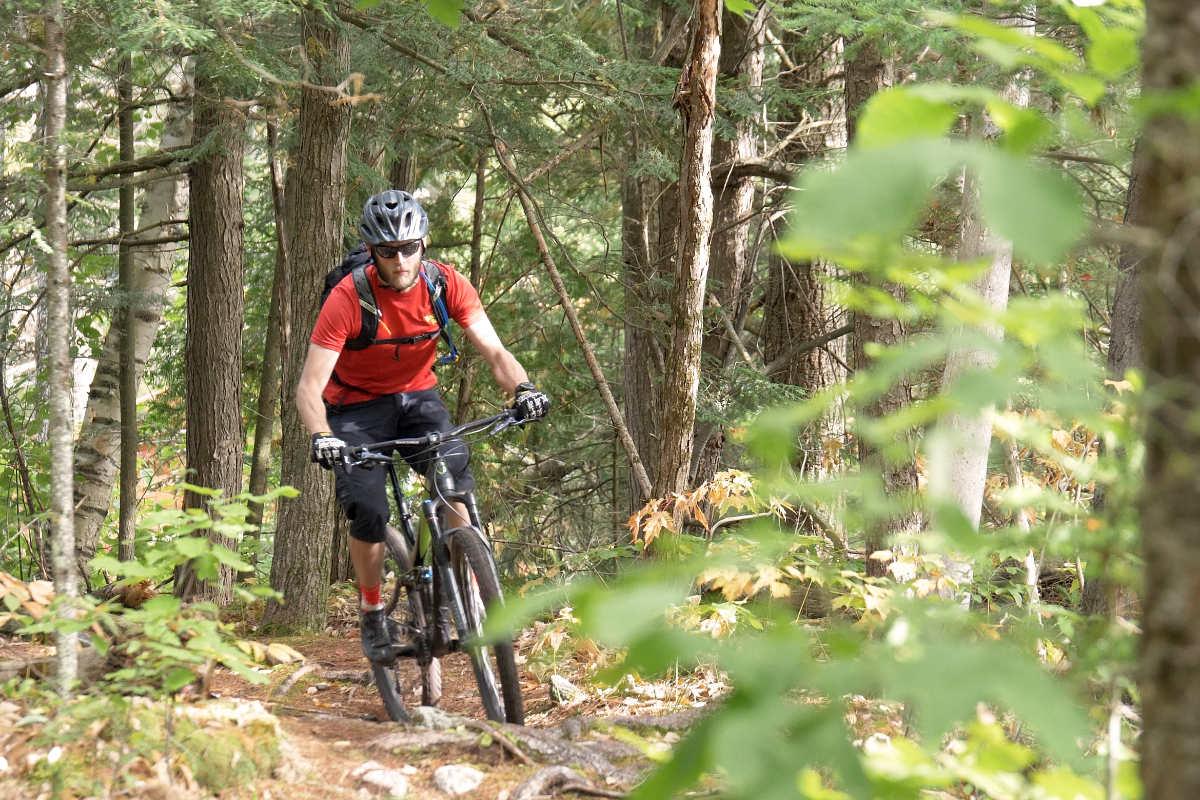 Mountain Biking Ottawa Canada National Whitewater Park Wilderness Tours