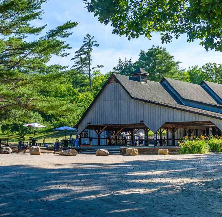 Park Village National Whitewater Park Resort Center Lodging Bar Sport Courts Sauna Ottawa River Ontario