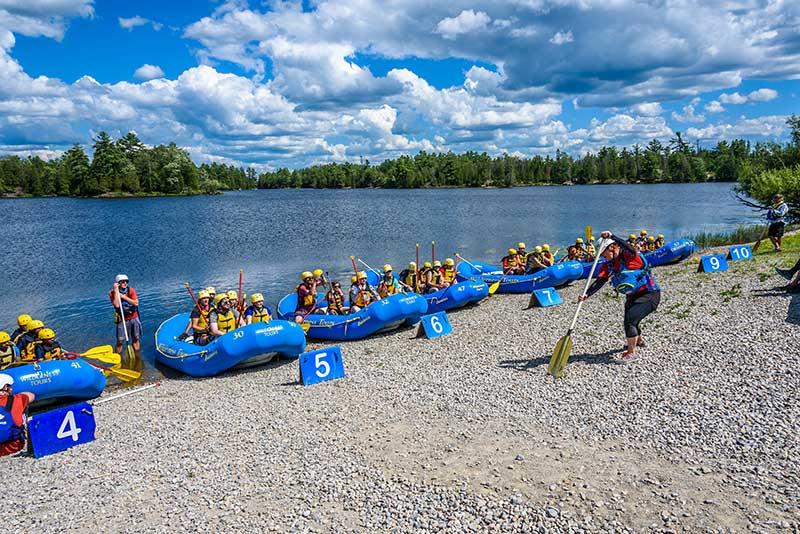 2021 Opening Weekend Whitewater Rafting Ottawa River
