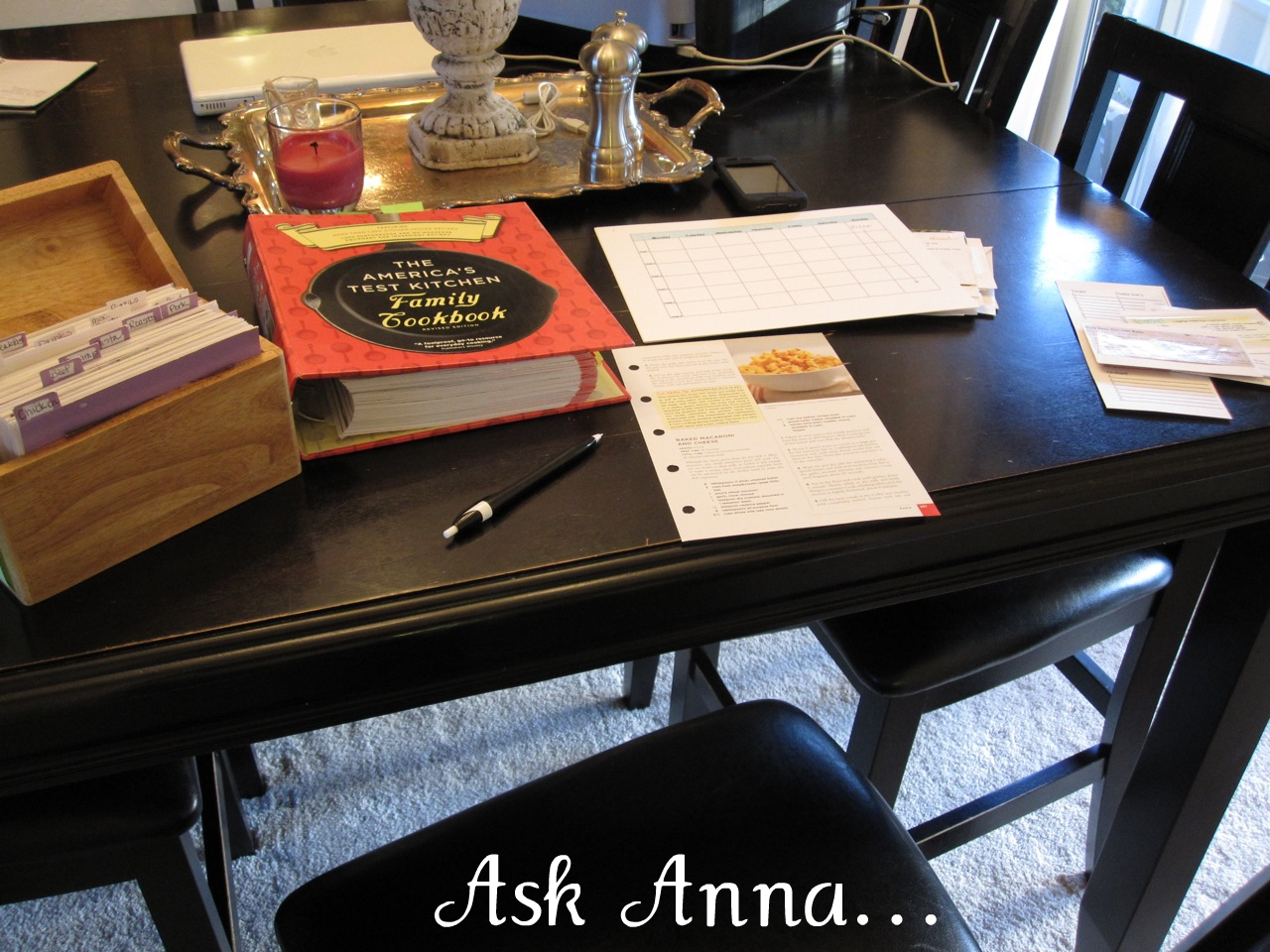 How to meal plan - Ask Anna