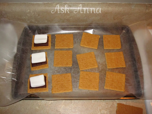 Chocolate Covered S'mores - Ask Anna