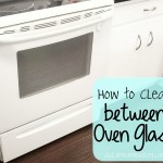 A simple tutorial that shows you how to clean between oven window glass and get rid of those pesky streaks | Ask Anna