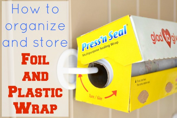 How to Store Foil and Plastic Wrap - Ask Anna