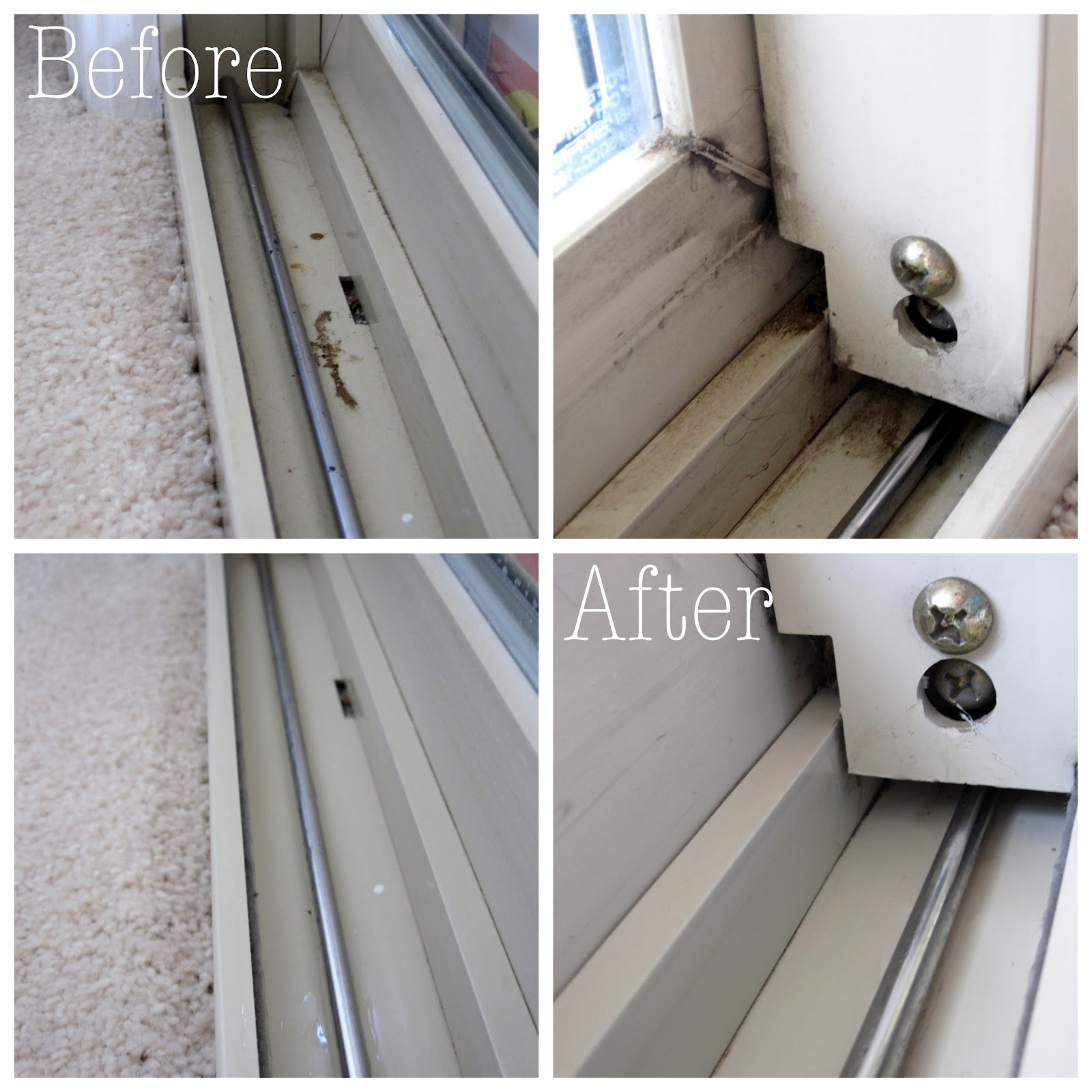 The easiest way to clean window tracks, to make them look brand new | Ask Anna