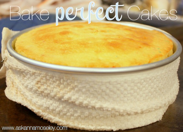 Want to know how to bake a perfect cake? A friend of mine taught me this great trick for baking level cakes. It gives you a perfect cake every time | Ask Anna