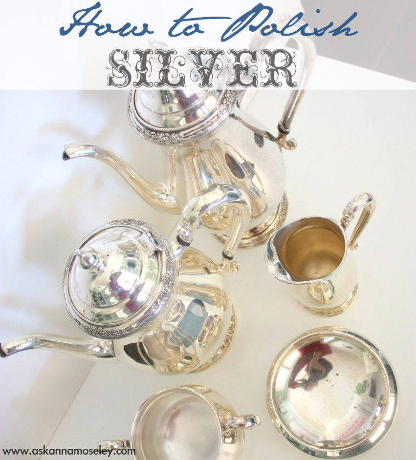 How to polish silver in just minutes, with no scrubbing   Ask Anna