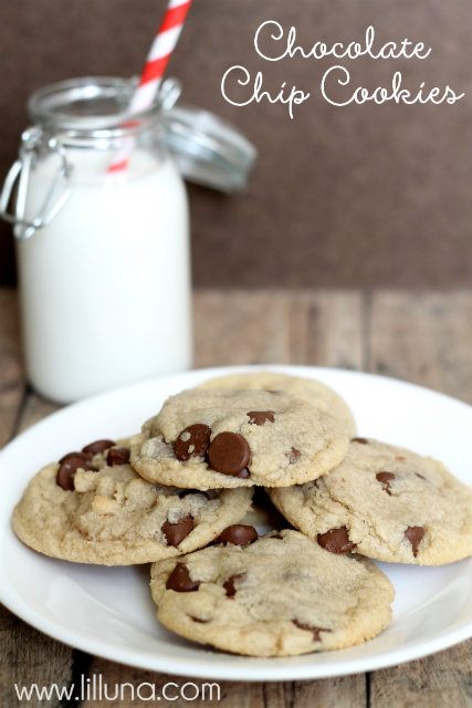 This is an easy chocolate chip cookie recipe and these are by far the best chocolate chip cookies you'll ever make, I guarantee it!   Ask Anna