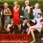 Mad Men Birthday Party - Ask Anna