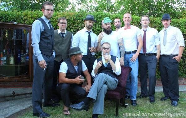 Mad Men Birthday Party