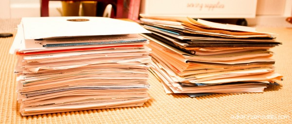 Lots of helpful tips for how to cut down on paper clutter, including a link to opt out of junk mail! - Ask Anna