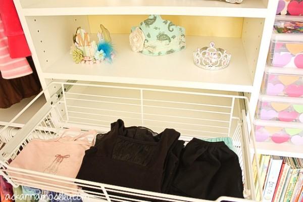 Organized kids closet - Ask Anna
