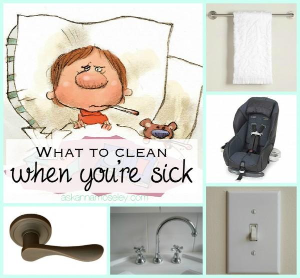 The flu and you ~ what to clean when you're sick -- Ask Anna