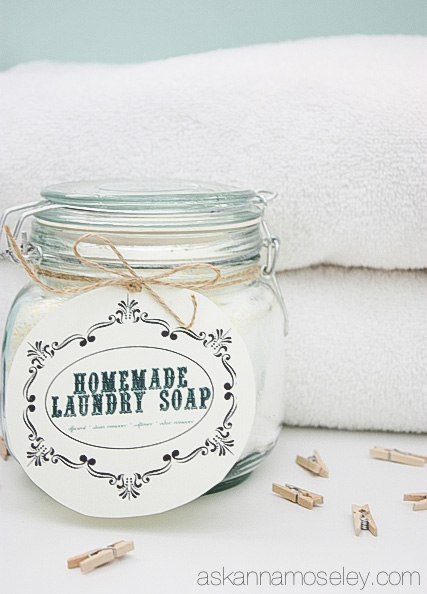 The best homemade laundry detergent, and why it's the best | Ask Anna