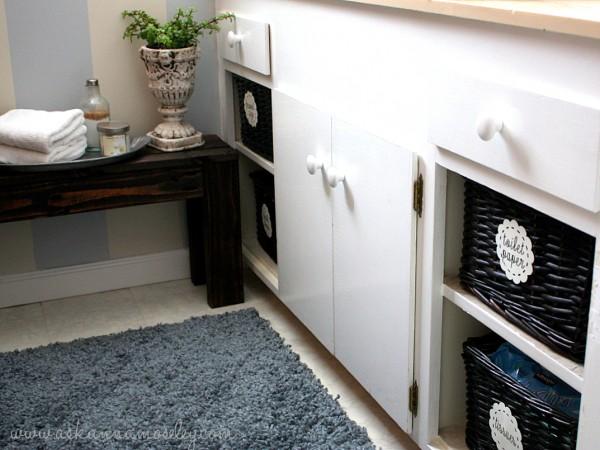 Organized bathroom cabinets - Ask Anna