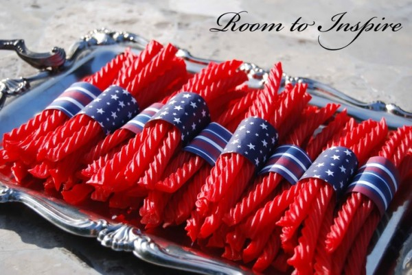 4th of July licorice