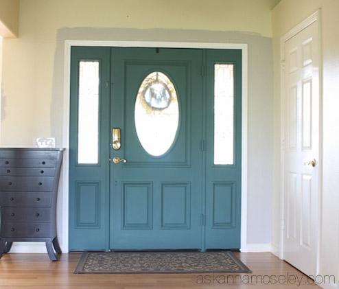 Unique Front Door Colors with Chalk Paint - Ask Anna