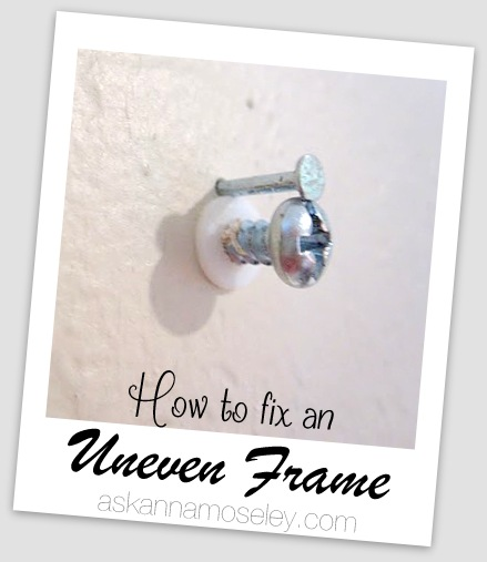 Hanging pictures frames evenly - Ask Anna