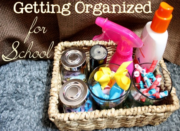 Organize Back to School Mornings