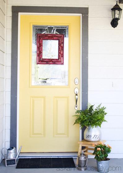 Front door color - Ask Anna
