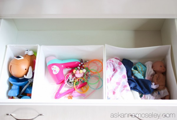 Dresser organization tips - Ask Anna