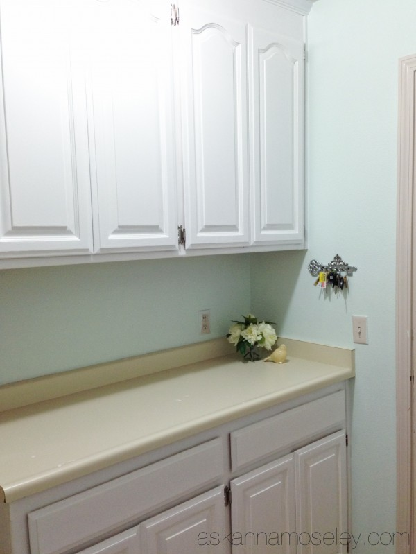 Laundry room makeover - Ask Anna