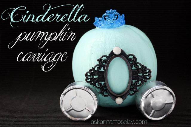 Cinderella pumpkin carriage - Ask Anna